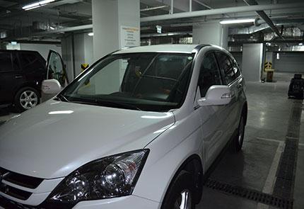 Установка штатной магнитолы, камеры заднего вида и видеорегистратора на автомобиль Honda CR-V 2011