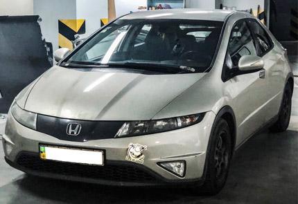 Замена магнитолы в автомобиле Honda Civic 5D