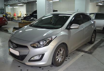 Изготовление стелс, установка сабвуфера и усилителя в автомобиле Hyundai i30