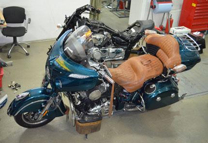 Подбор и настройка акустической системы на мотоцикл Indian Roadmaster