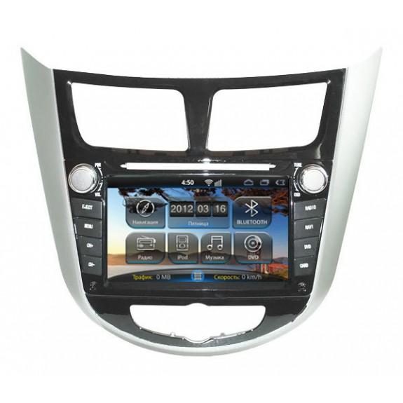 Штатная магнитола RoadRover Hyundai Accent 2011+
