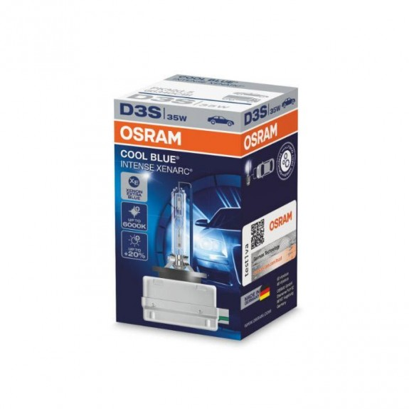 Ксеноновая лампа Osram D3S 66340CBI Xenarc Cool Blue Intense